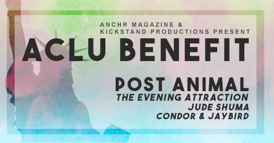 ACLU Benefit / Post Animal Tour