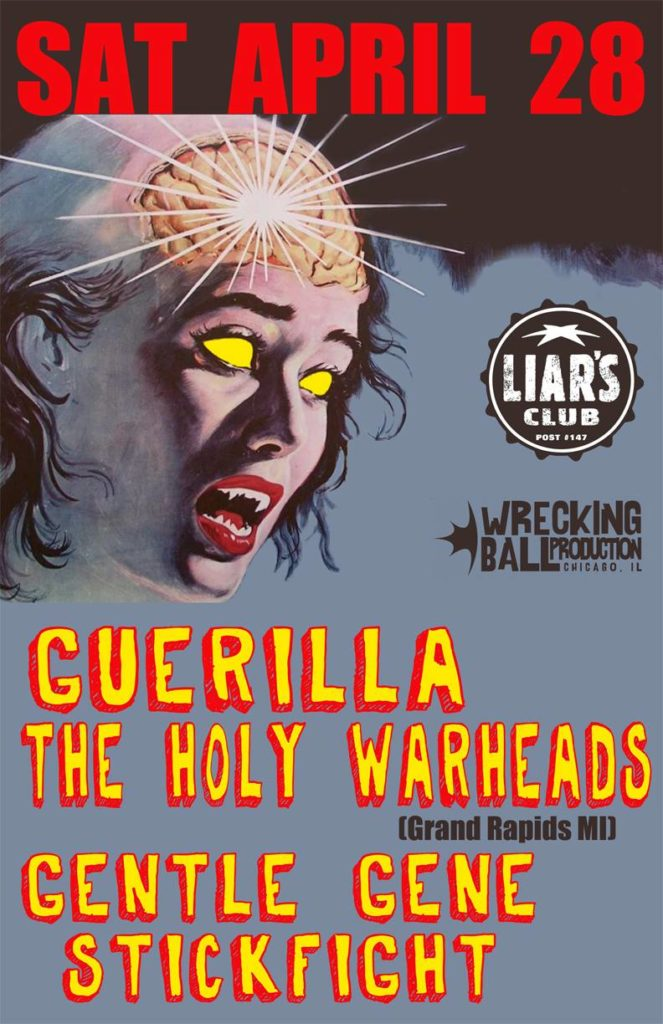 Guerilla The Holy Warheads Liars Club