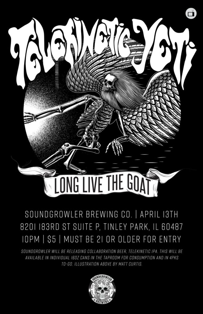 telekinetic yeti and long live the goat at soundgrowler