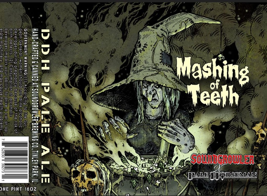 Mashing of Teeth Soundgrowler Pale Horseman