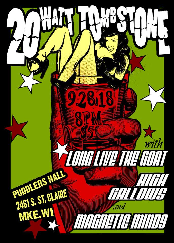 20 Watt Tombstone, Long Live The GOAT,