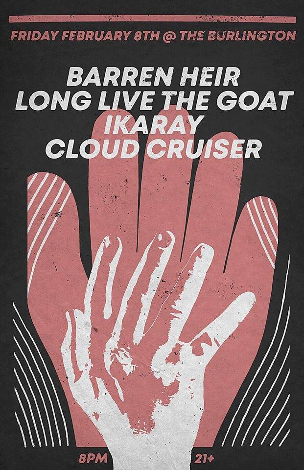 Barren Heir / Long Live The Goat / Ikaray / Cloud Cruiser
