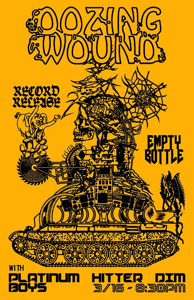 Oozing Wound Record Release Show